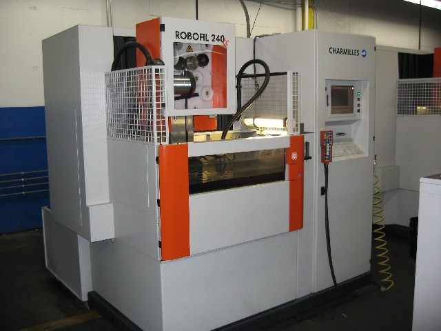 charmilles robofil 240cc wire edm 2005 machinery delivery rh swissware tools