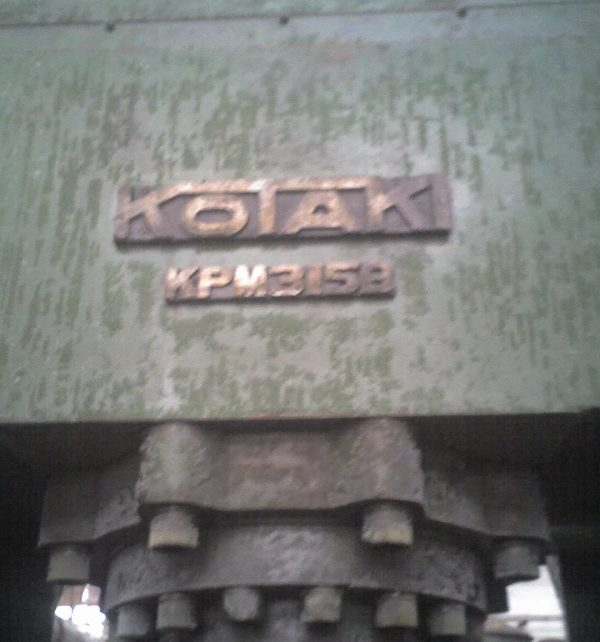 KOTAKI Metal Powder Press, 2 off available KPM-315B effort