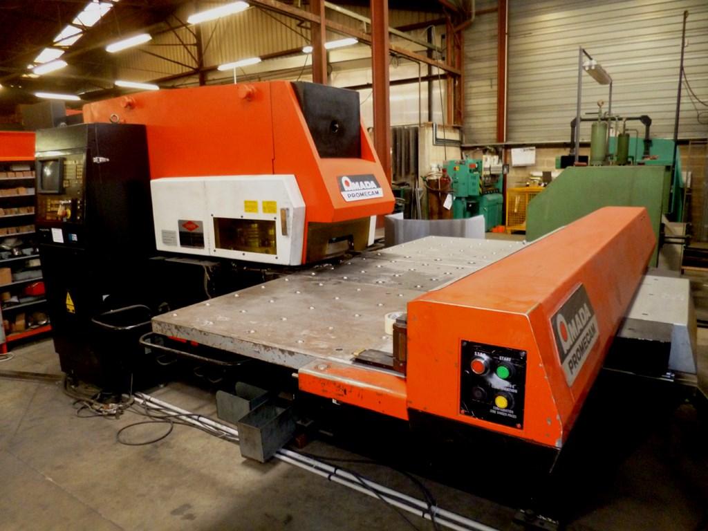 AMADA CNC Punch Press ARIES 2 4 5 – 1m x 1 27m – 19 ATC