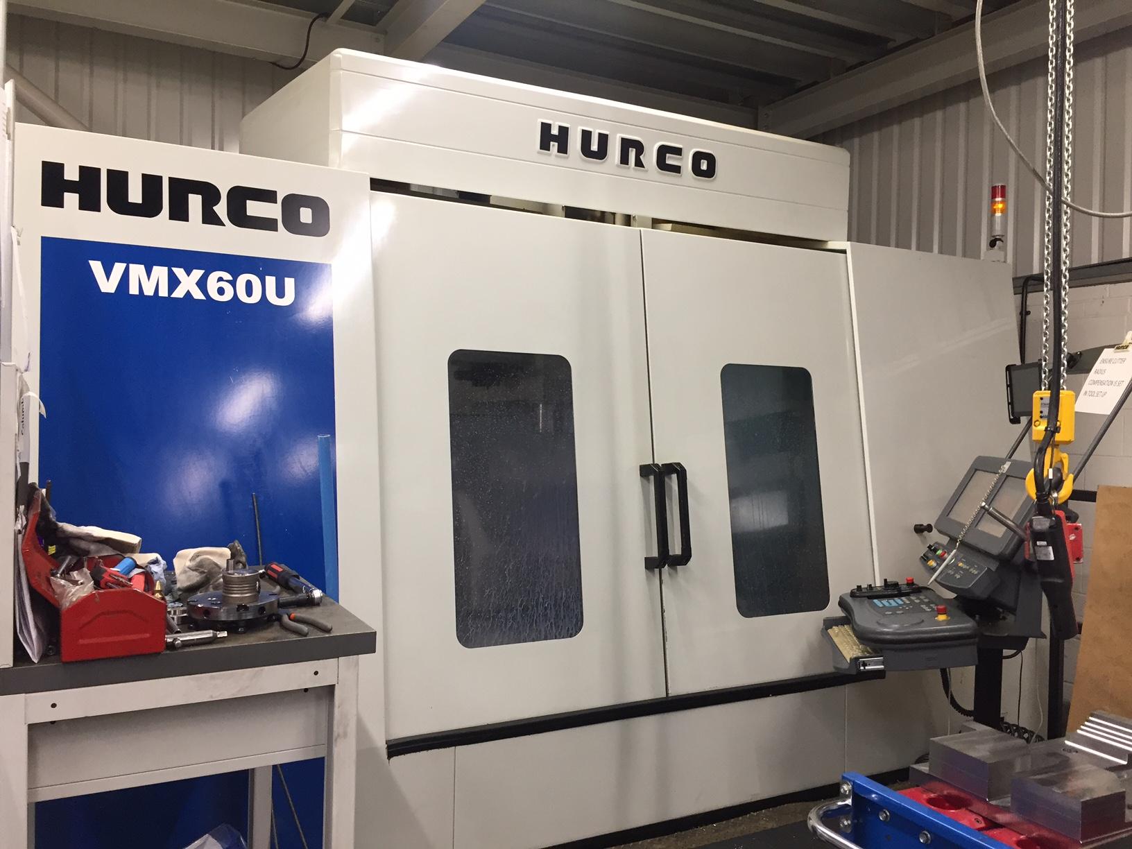 HURCO 5 axis VMX60U (1525mm in X) , manufactured 10/2011